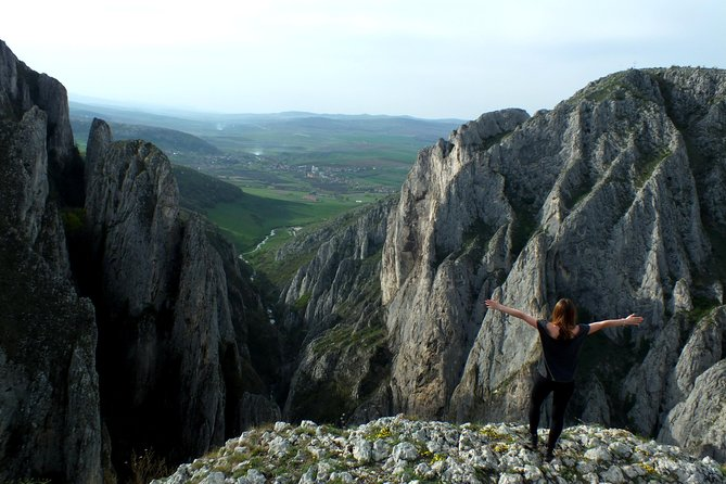 One day trekking in Turda Gorge with mountain guide photo 1