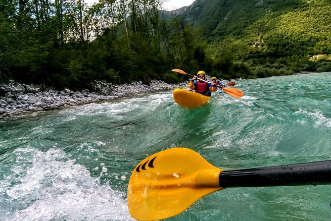 1 DAY KAYAK CLASS on Soča river