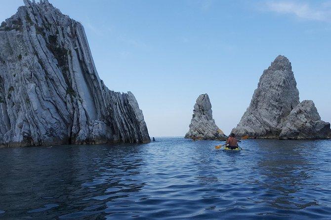 SuperAlba al Conero: canoeing to the Due Sorelle - Private Tour