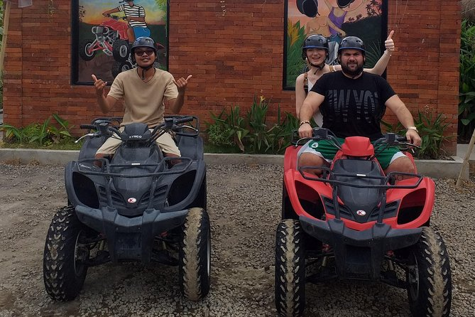 Bali-Private Tour with Sunset Quad Bike