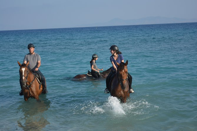 Horse riding on the Beach, Rhodes photo 6