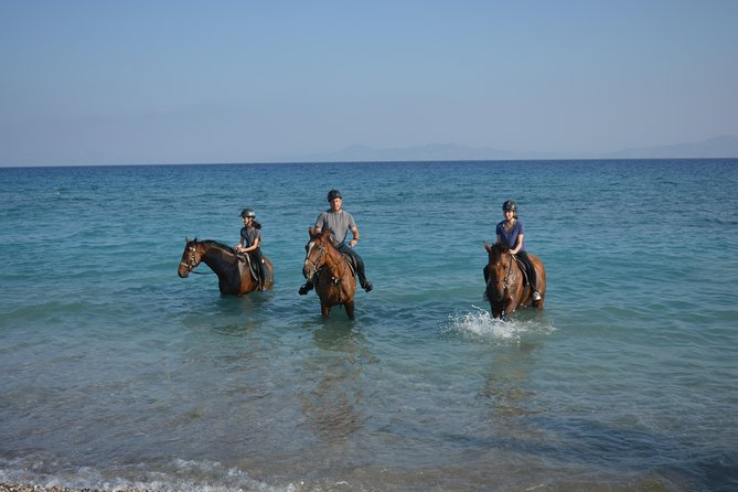 Horse riding on the Beach, Rhodes photo 9