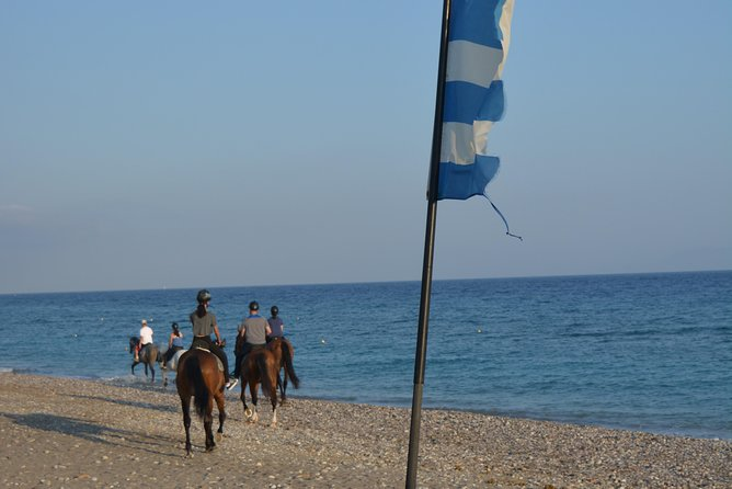 Horse riding on the Beach, Rhodes photo 10