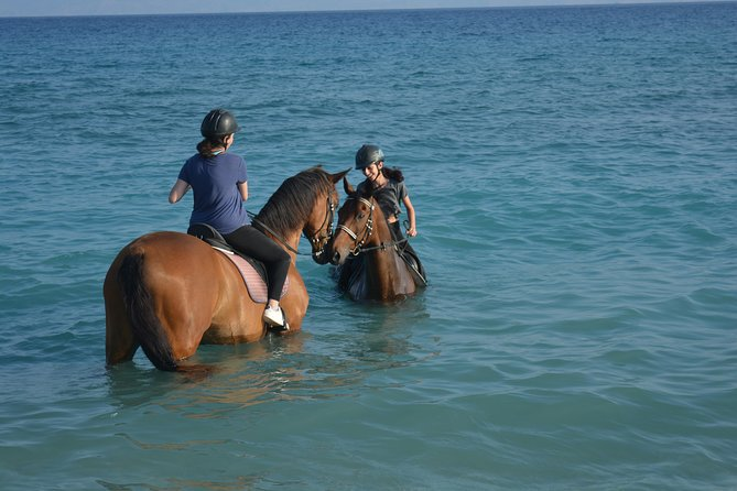 Horse riding on the Beach, Rhodes photo 8