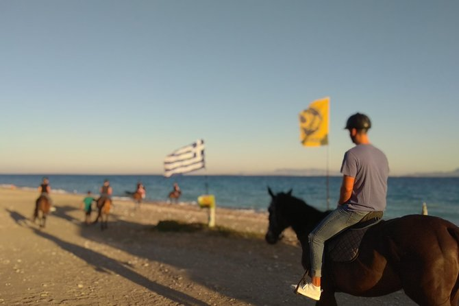 Horse riding on the Beach, Rhodes photo 11