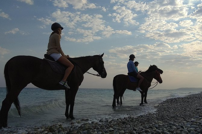 Horse riding on the Beach, Rhodes photo 16