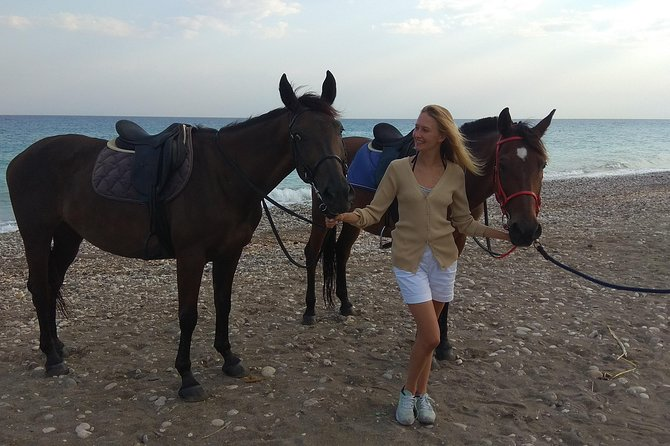 Horse riding on the Beach, Rhodes photo 7