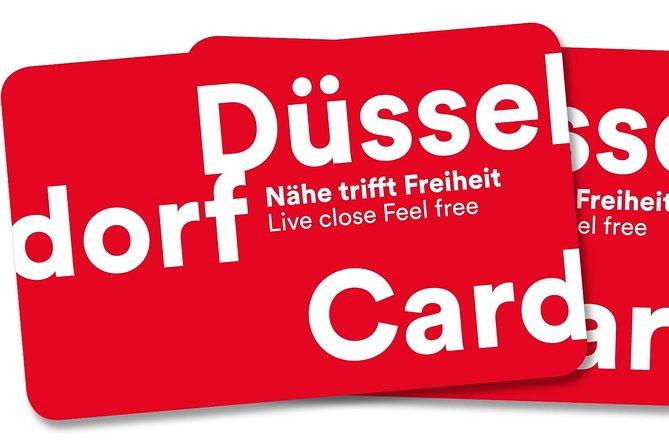 4-day DüsseldorfCard for public transport