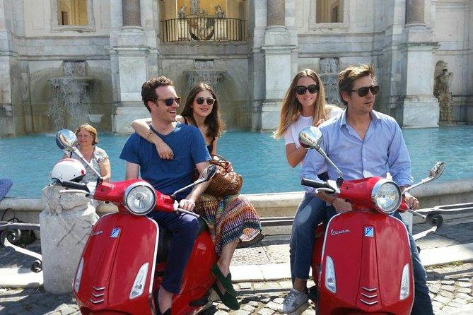 Vespa rental in Rome