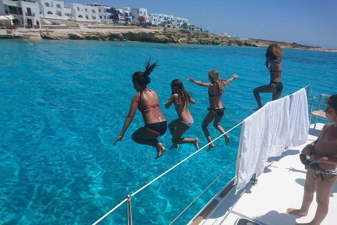 South part of Naxos Private Tour on a Catamaran photo 1