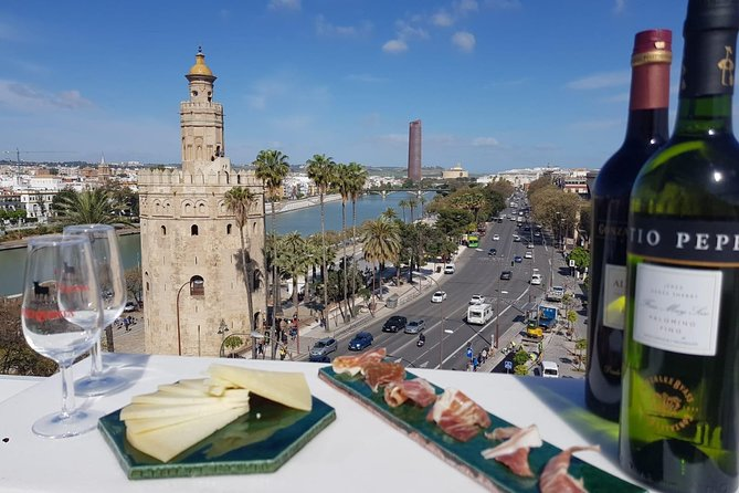 Paella & Tortilla Show Cooking on a Seville Rooftop