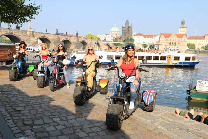 PRIVATE Live-Guided Trike-Harley 3 Hour Adventure of Prague