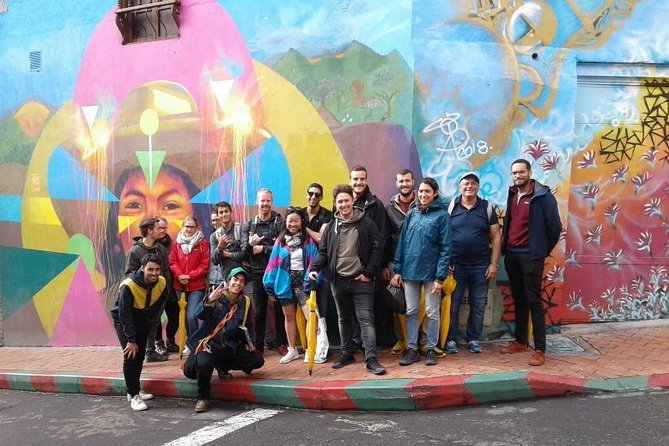 Shared Graffiti Tour in La Candelaria Bogotá