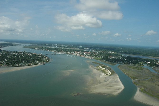 St. Augustine Fort Matanzas & Old Downtown Helicopter Tour