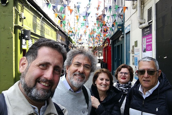 Senza Meta / Out & About, certificate Dublin walking tour guide