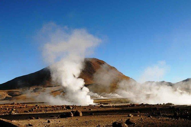 Excursion to Tatyo Geysers and Machuca, in Atacama Desert