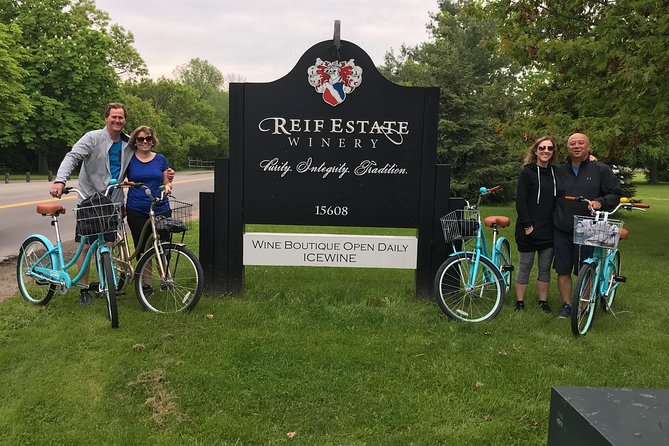 Vine & Dine Bicycle Wine Tour - Niagara On The Lake - With Lunch