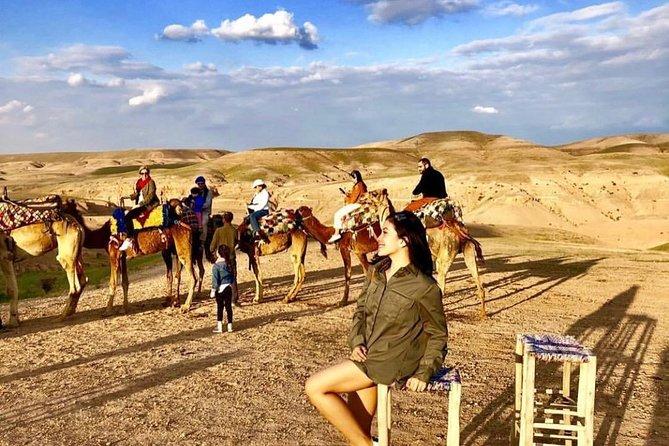 Quad Biking & Camel ride in Agafay Desert