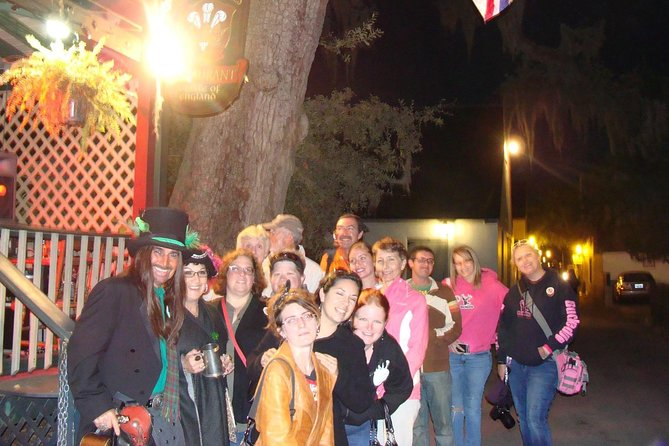 "St. Augustine Night-Time ""Spirits with Spirits"" Ghosts & Hauntings Pub Crawl"