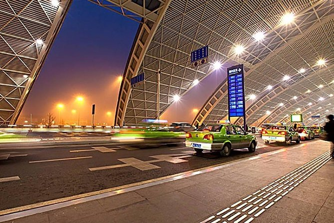 Private Chengdu International Airport Departure Transfer from City Hotels