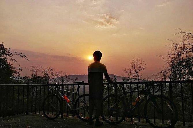 Cycle the Floating Village & Sunset Cruise