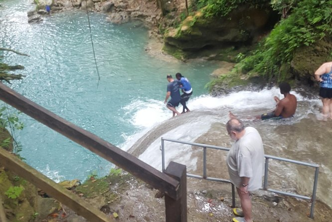 Blue Hole and Dunn's River Adventurous and hiking waterfalls from Ocho Rios