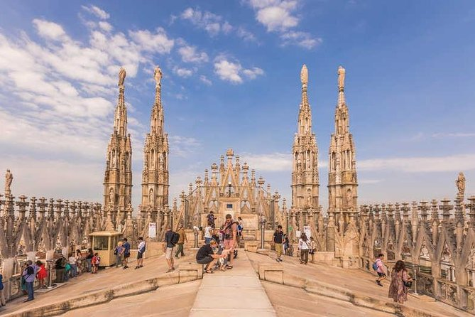 Milan Cathedral and Terraces Guided Tour (Exclusive Small Group)