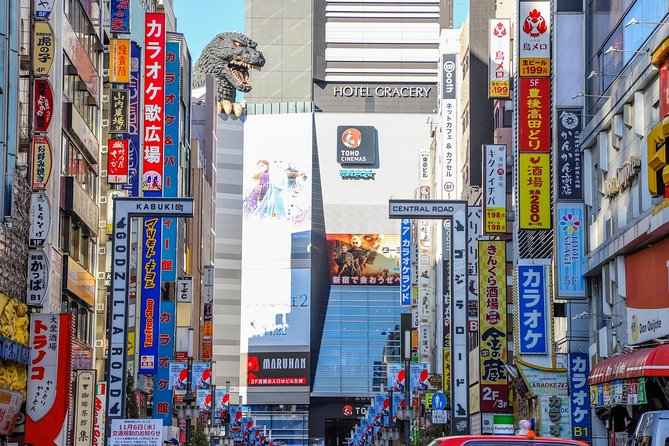 Private Tour - Top 10 Shinjuku Spots! The Golden Route to Explore the City!