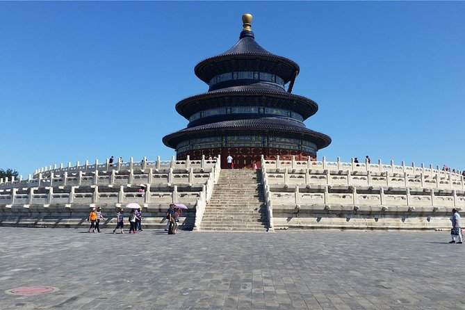 Beijing Private Tour of Temple of Heaven + View Forbidden City from Scenic Hill
