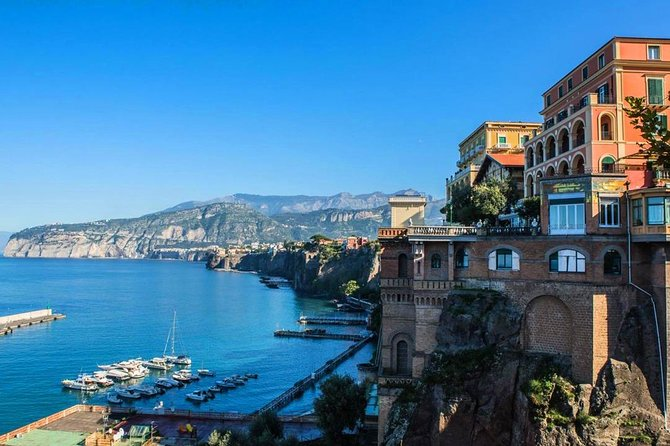 Luxury exclusive VAN from Sorrento Coast to Naples airport