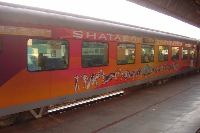 Full Day Tour Shatabdi Express to gatimaan express from Delhi