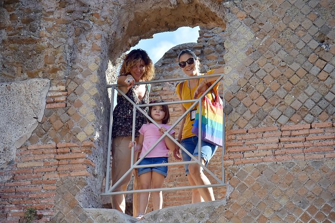 Kid-Friendly Ancient Ostia Tour with Hotel Pickup & Skip-the-line Tickets