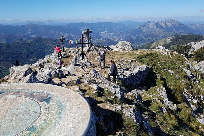 Excursión de senderismo al Monte Ernio desde San Sebastián
