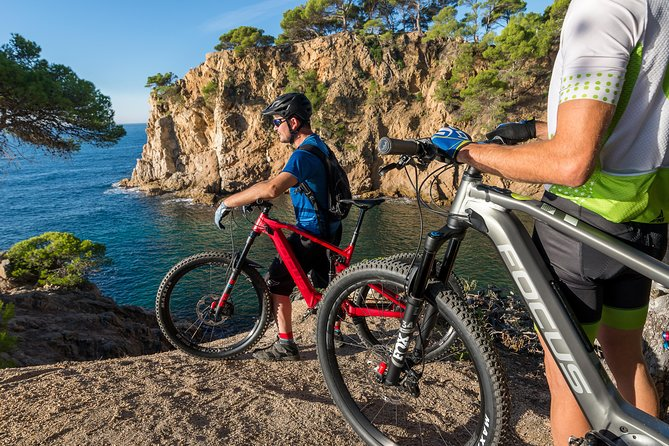 Costa Brava guided e-mtb full suspension tour.
