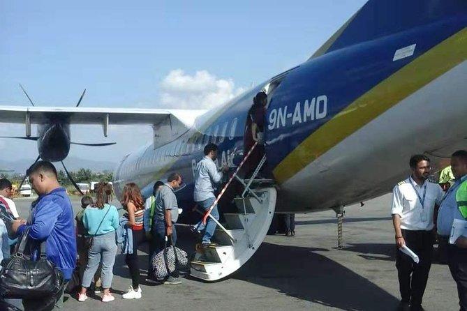 Vol pour Pokhara depuis Katmandou via Buddha Air