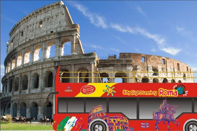 Colosseum SKIP THE LINE + 48 HOURS Hop on Hop off BUS