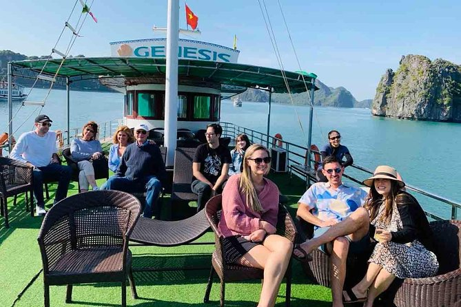 Genesis: Halong Bay Small Group Day Tour & Premium Transport + Highway Roundtrip