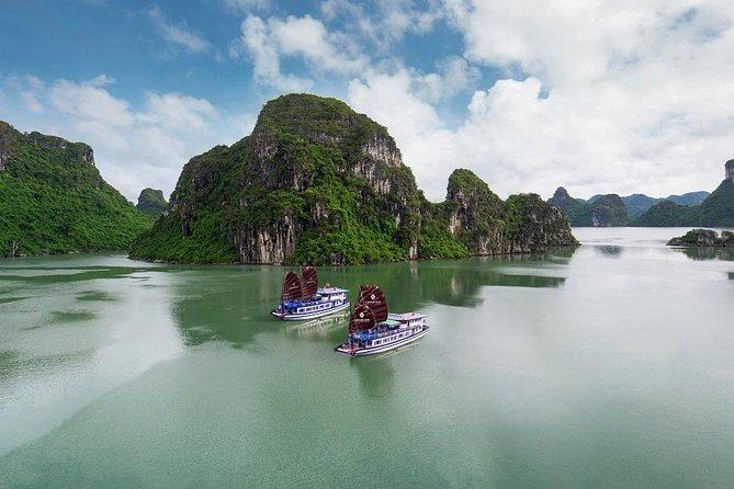 Genesis: Halong Bay Small Group Day Tour with Luxury Shuttle & Highways