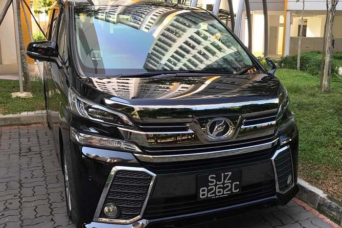 One way private transfer from hotel to Singapore - Changi International Airport