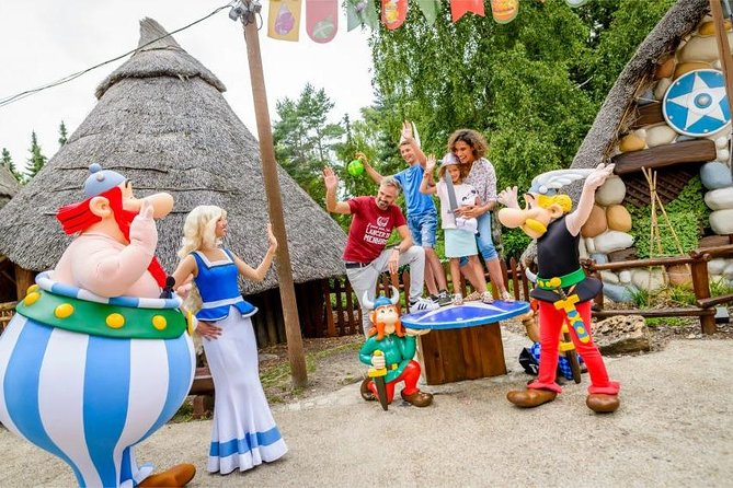1 day Parc Astérix + transfers included