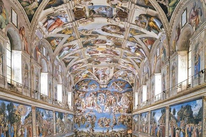Vatican Museum and Sistine Chapel Guided Tour