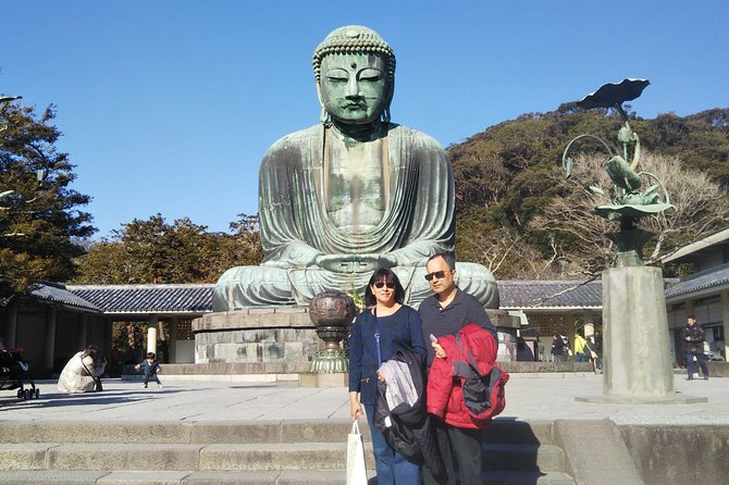 6-hour Kamakura tour by qualified guide using public transportation
