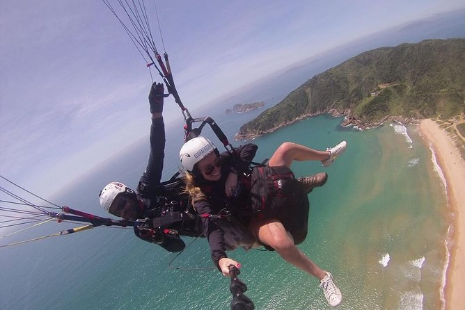 Double Paragliding Flight in Buzios Sky + Buggy Tour + Video