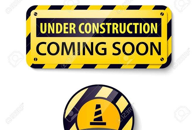 Onder constructie - Binnenkort geopend