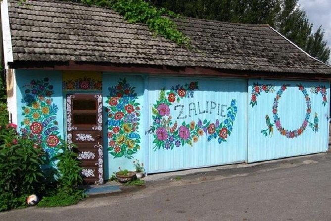 Zalipie, painted village, regular group tour from Krakow