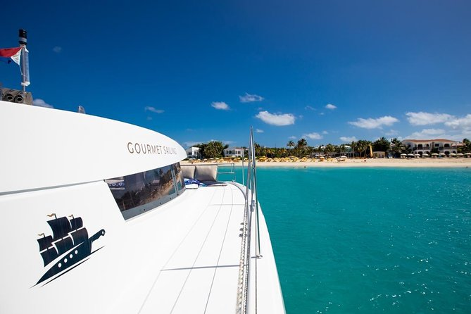 Gourmet Catamaran Excursion in Anguilla