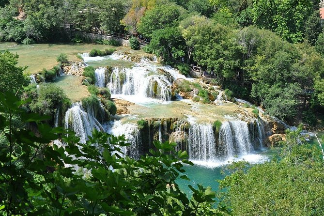 Private excursion from Split to NP Krka Lozovac
