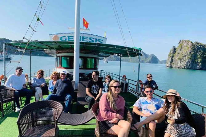 Genesis Cruise : Halong Bay Day Tour- Small Group & Limousine Transfer Roundtrip