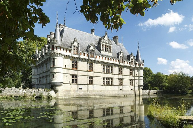 Day tour of Chateaux of Azay le Rideau Langeais Villandry, organic wine tasting