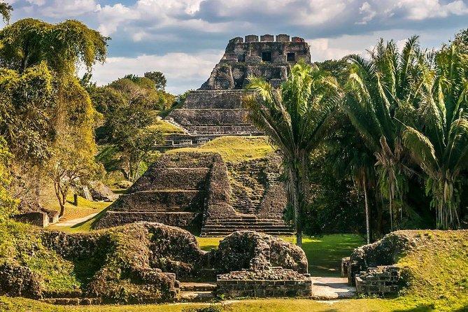 Xunantunich Mayan Ruin from Caye Caulker